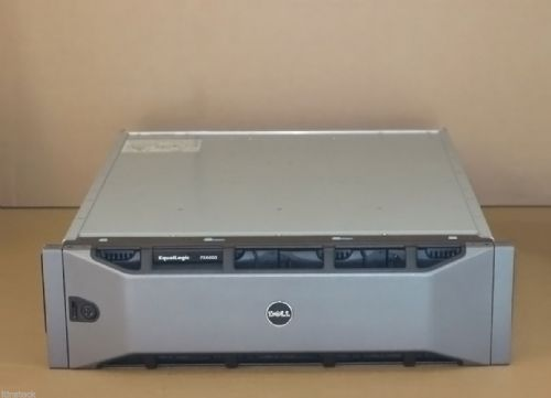 Dell EqualLogic PS4000E 16Tb Virtualized iSCSI SAN Dual Controller Storage Array